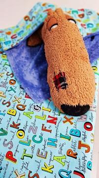 Minky Blankets Alphabet