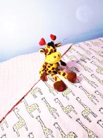 Minky Blankets Giraffe