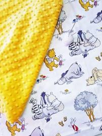 Minky Blankets Pooh