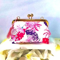 Rosemary Kisslock Clutch 1