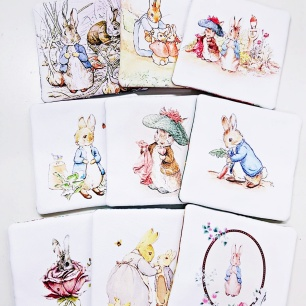 Rabbit Coasters 1