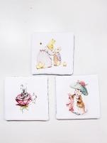 Rabbit Coasters 3