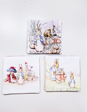 Rabbit Coasters 4