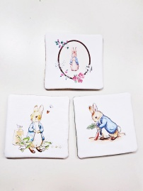 Rabbit Coasters 5