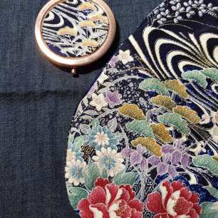 compact mirror with Lil Japanese Bag