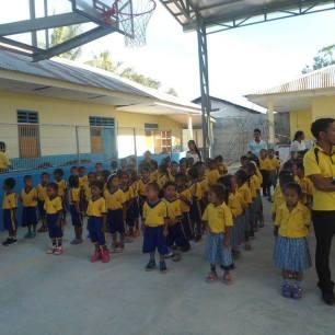 ET students in school