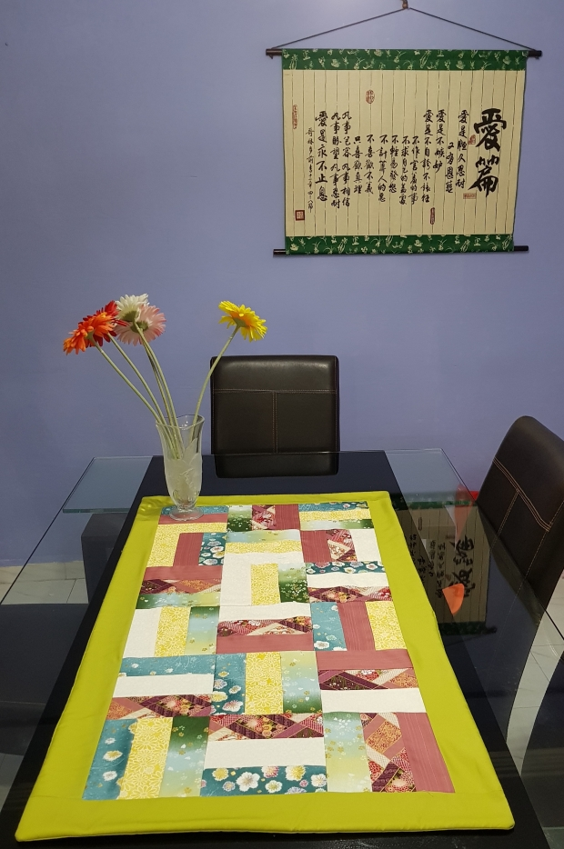 Patchwork table runner 1
